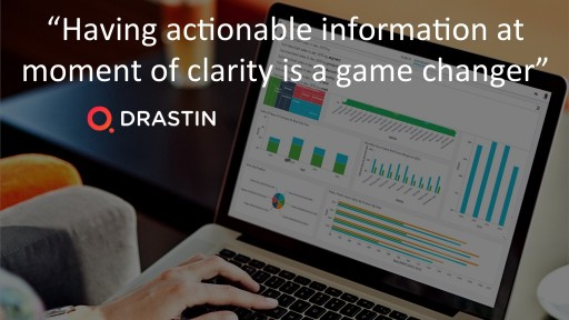 Drastin Unveils the World's First Conversational Analytics Product Powered by Artificial Intelligence